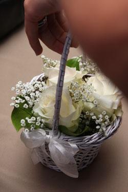 flower girl's basket