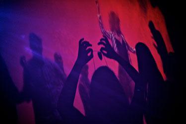 shadow dancing dj dance party